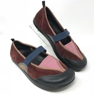 KALSO EARTH Intrigue Wine Mary Jane Slip On